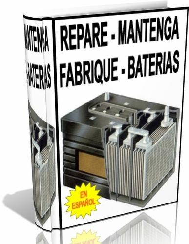 libro digital mant. reparación y fabricacion de baterías pdf