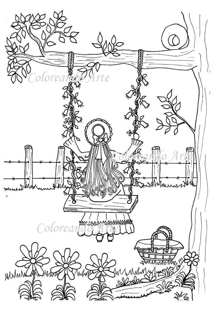 Libro Digital Para Colorear - Formato Pdf - Dibujado A Mano - $ 120 ...