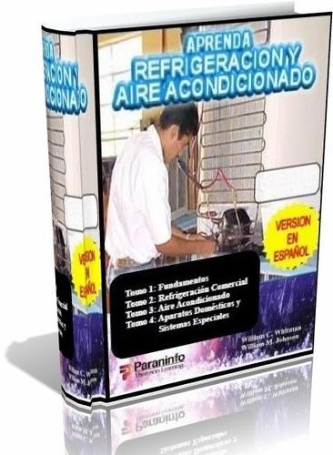 libro digital - refrigeración y aire acondicionado - 4 tomos