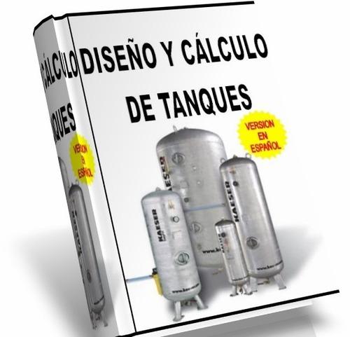libro digital sobre - diseño y cálculo de tanques - pdf-dvd