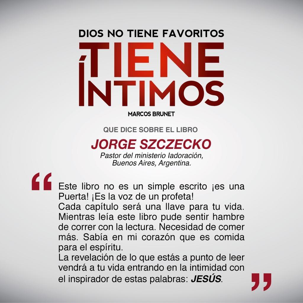 Libro Dios No Tiene Favoritos Tiene Intimos - Marcos Brunet ...