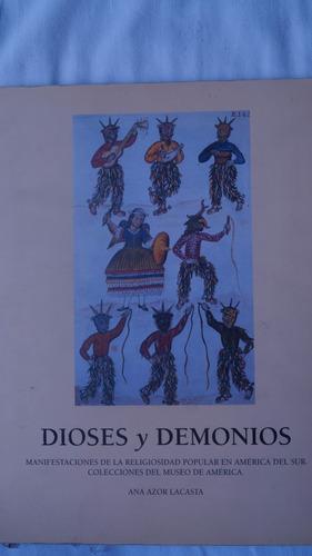 libro dioses y demonios - arte popular