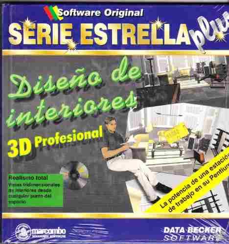 libro diseño de interiores 3d profesional