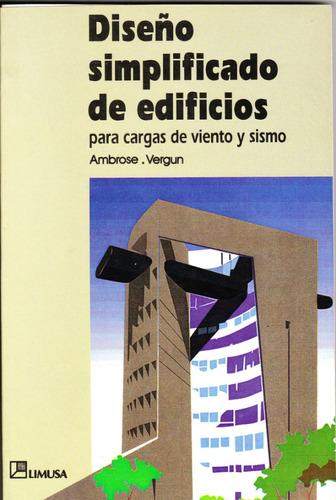 libro diseño simplificado edificios cargas viento y sismos