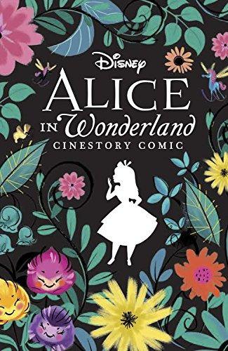 libro disney alice in wonderland cinestory collector edito