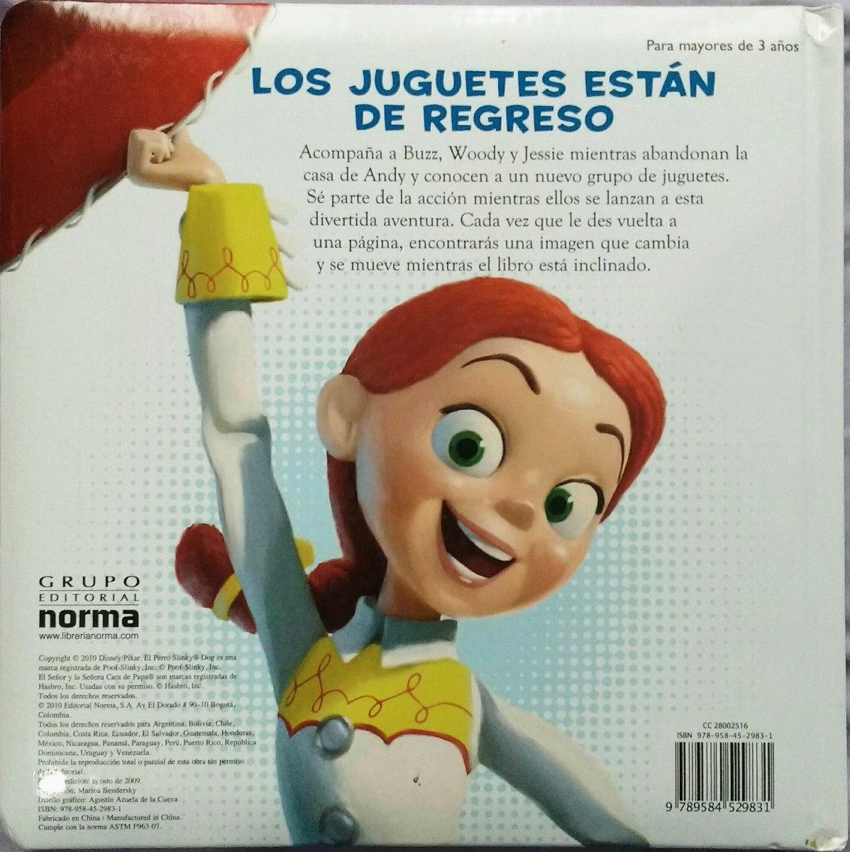 caba018497cf9 Libro Disney Pixar Toy Story 3 Editorial Norma -   199.00 en Mercado ...