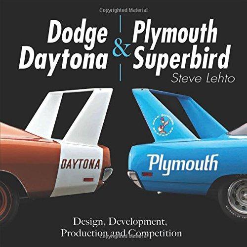 libro dodge daytona & plymouth superbird: design, developm