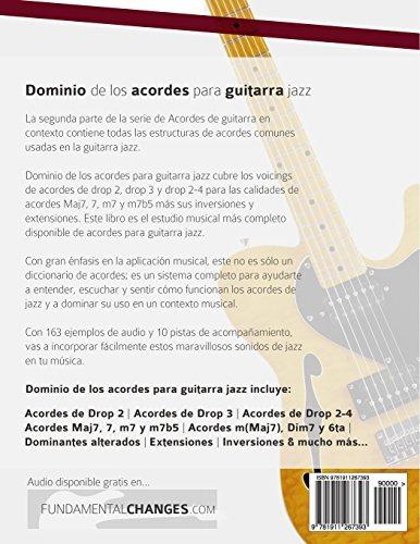 Libro : Dominio De Los Acordes Para Guitarra Jazz: Guia M ...