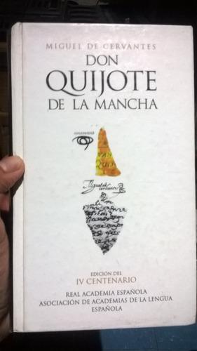 libro don quijote edicion iv centenario