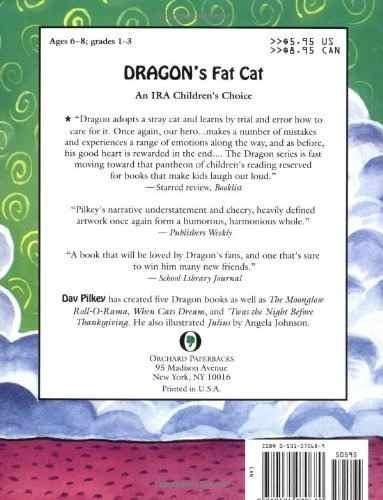 libro dragon's fat cat - nuevo