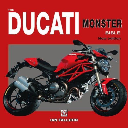 libro ducati monster bible - nuevo