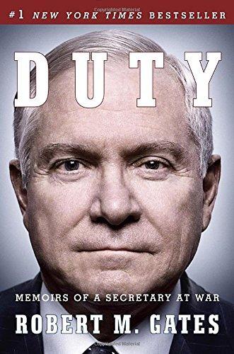 libro duty: memoirs of a secretary at war - nuevo p