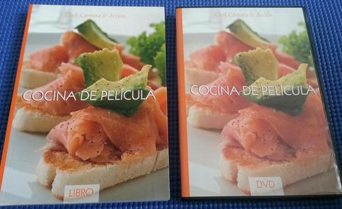 libro + dvd cocina de película