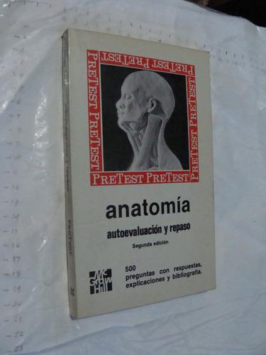 libro eanatomia autoevaluacion y repaso , 290 paginas , año