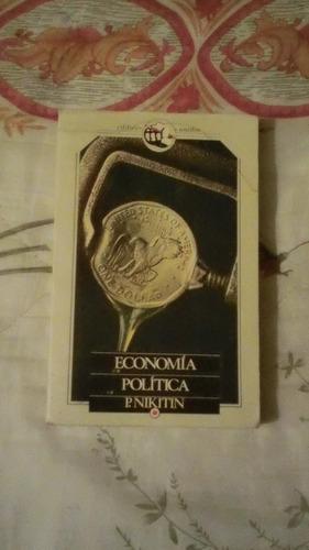 libro economía política, p. nikitin.