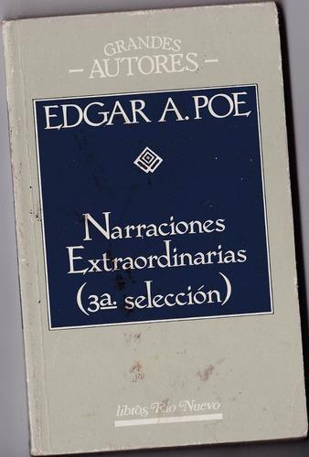 libro - edgar a. poe - narraciones extraordinarias 3ª selecc