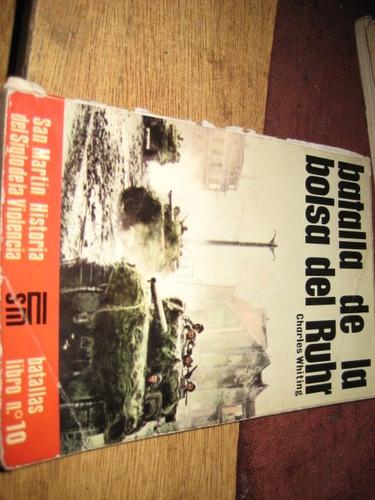 libro editorial san martin - batalla bolsa del ruhr