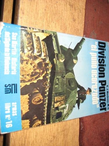 libro editorial san martin - division panzer tanques