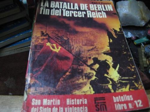 libro editorial san martin la batalla de berlin