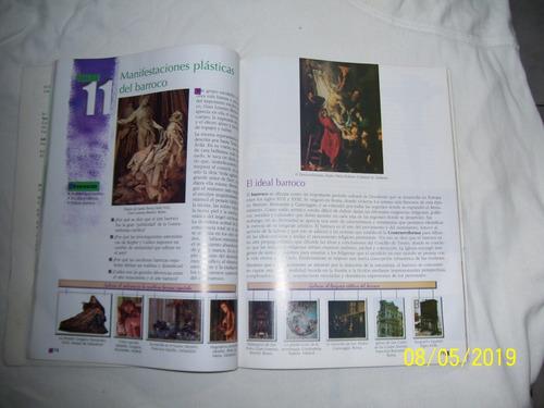 libro educación artistica 8vo grado santillana 10 v-erdes