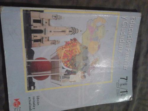 libro educación familiar y ciudadana usado