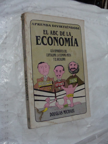 libro el abc de la economia , douglas michael  , 218 paginas
