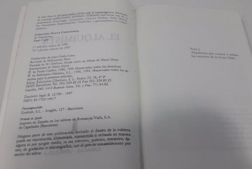 libro, el alquimista, paulo coelho, usado