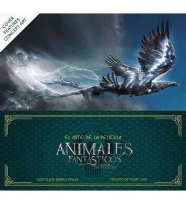 libro el arte de la pelicula de animales fantasticos