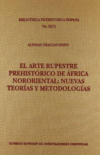 libro el arte rupestre prehistórico de áfrica nororiental: n
