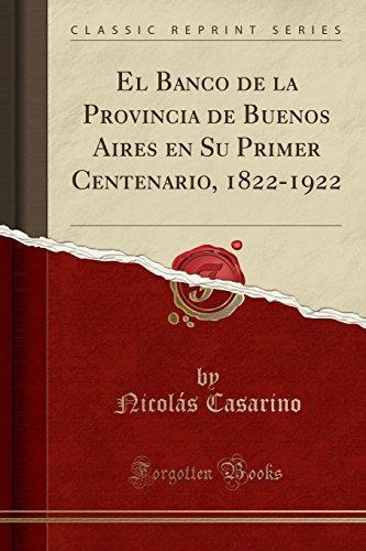 libro : el banco de la provincia de buenos aires en s (1206)