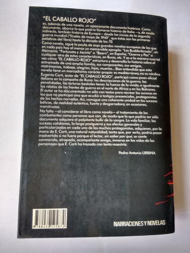 libro - el caballo rojo - eugenio corti