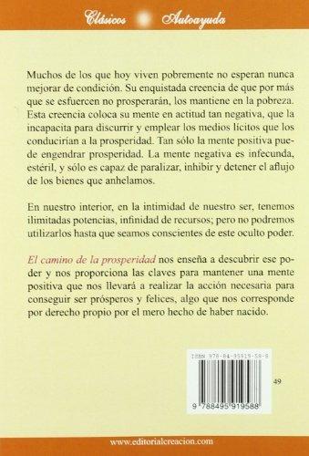 libro : el camino de la prosperidad: claves para una vida..