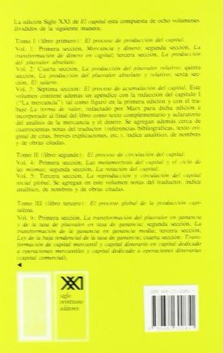 libro, el capital tomo 2/ vol. 4 de karl marx.