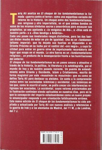 libro el choque de los fundamentalismos - 2e - nuevo