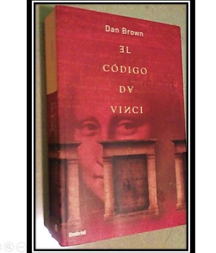 libro  el codigo da vinci   de dan brown (en fisico)