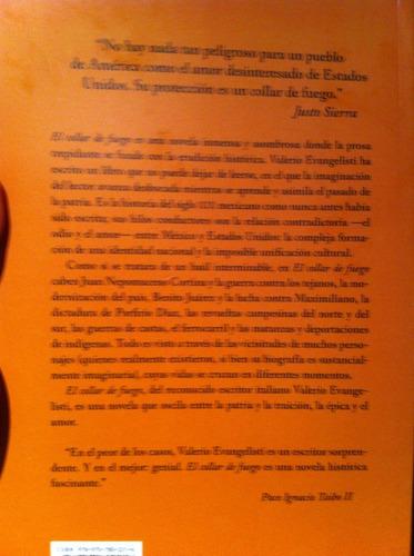 libro el collar de fuego valerio evangelisti nov historica