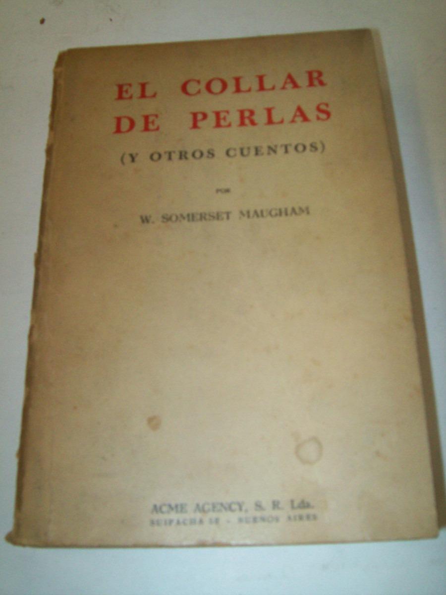 403ec36a8892 Libro El Collar De Perlas Y Otros Cuentos. Año 1948 -   170