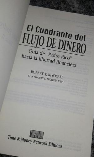 libro, el cuadrante del flujo de dinero, robert kiyosaki.