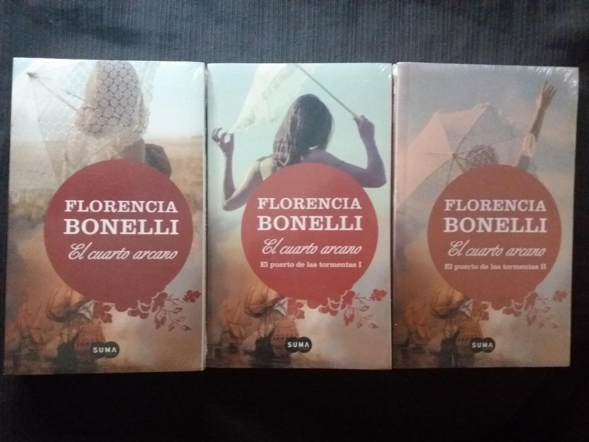 Libro El Cuarto Arcano Florencia Bonelli X 3 - $ 900,00 en Mercado Libre