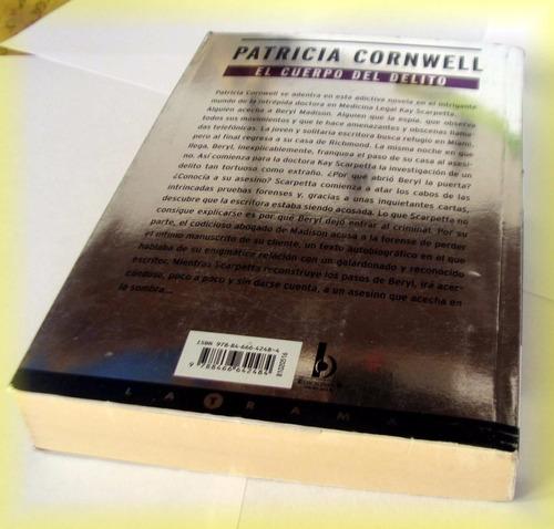 libro ¿ el cuerpo del delito ¿ patricia cornwell