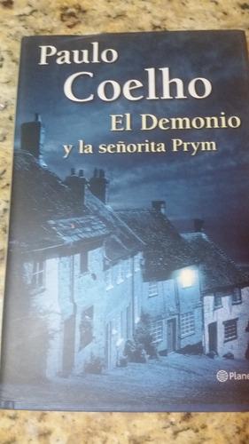libro el demonio y la srta prym paulo coelho (tapa dura)
