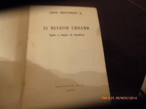libro el desafio chileno -jorge bebtjerodt (115