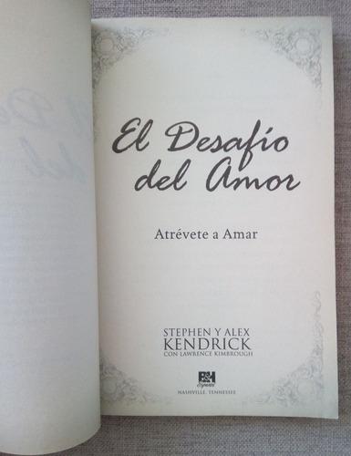 libro el desafio del amor, devocional diario