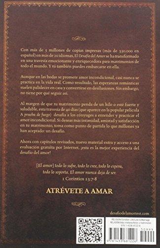 libro el desafío del amor / the love dare - nuevo