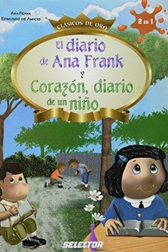 libro el diario de ana frank / corazón diario de un niño