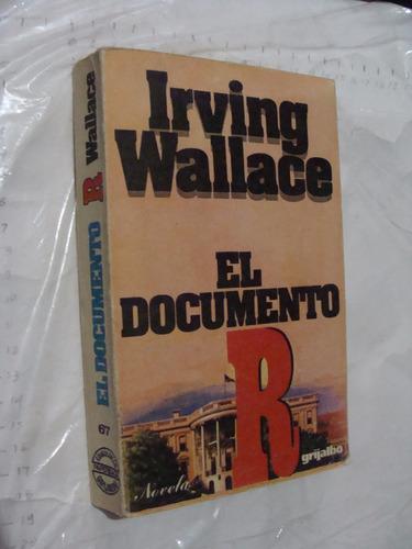 libro el documento irving wallace , 385 paginas , año 1979