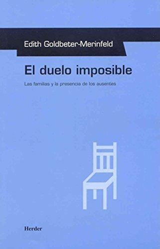 libro el duelo imposible - nuevo