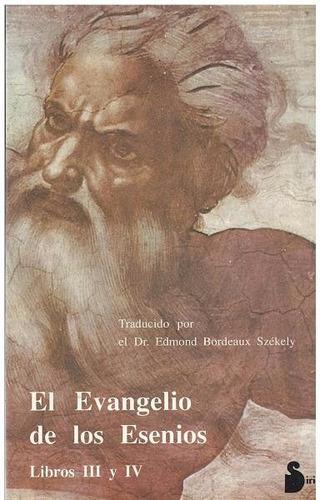 libro, el evangelio de los esenios libros i i i y i v.