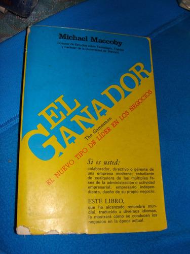 libro el ganador, michael maccoby