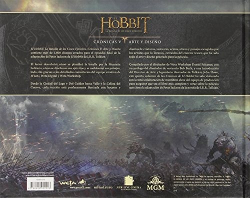 libro el hobbit: la batalla de los cinco ejércitos. crón